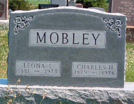 MOBLEY, LEONA LILLIAN - Madison County, Iowa | LEONA LILLIAN MOBLEY