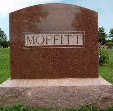 MOFFITT, FAMILY STONE - Madison County, Iowa | FAMILY STONE MOFFITT