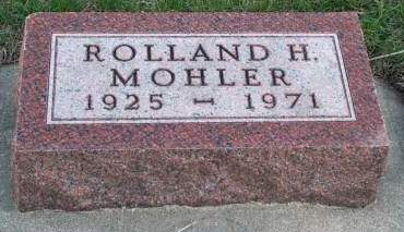 MOHLER, ROLLAND H. - Madison County, Iowa | ROLLAND H. MOHLER