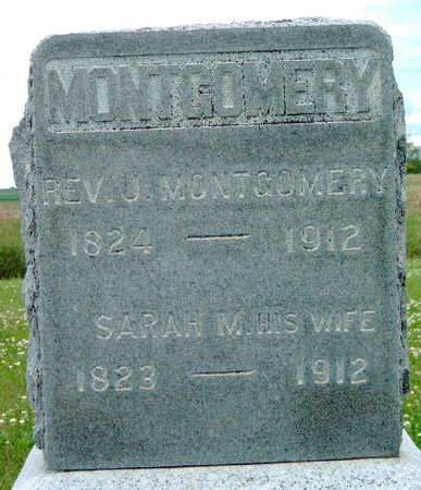 MONTGOMERY, JOHN (REV.) - Madison County, Iowa | JOHN (REV.) MONTGOMERY