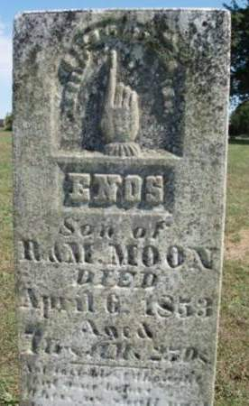 MOON, ENOS - Madison County, Iowa | ENOS MOON