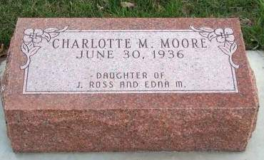 MOORE, CHARLOTTE MAUREEN - Madison County, Iowa | CHARLOTTE MAUREEN MOORE