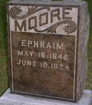 MOORE, EPHRAIM - Madison County, Iowa | EPHRAIM MOORE