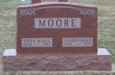 MOORE, EDNA MARIE - Madison County, Iowa | EDNA MARIE MOORE