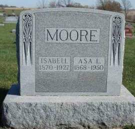 MCQUIE MOORE, ISABEL - Madison County, Iowa | ISABEL MCQUIE MOORE