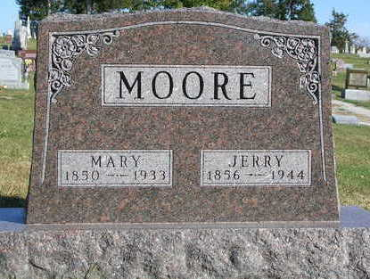 MOORE, JEREMIAH (JERRY) - Madison County, Iowa | JEREMIAH (JERRY) MOORE