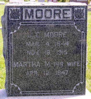 MOORE, JAMES CLARENCE - Madison County, Iowa | JAMES CLARENCE MOORE