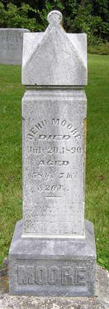 MOORE, JEHU (JOHN) - Madison County, Iowa | JEHU (JOHN) MOORE