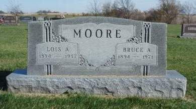 MOORE, LOIS ALMA - Madison County, Iowa | LOIS ALMA MOORE