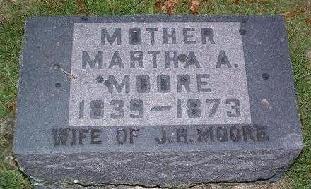 MOORE, MARTHA ANN - Madison County, Iowa | MARTHA ANN MOORE