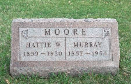 MOORE, HARRIET W. - Madison County, Iowa | HARRIET W. MOORE
