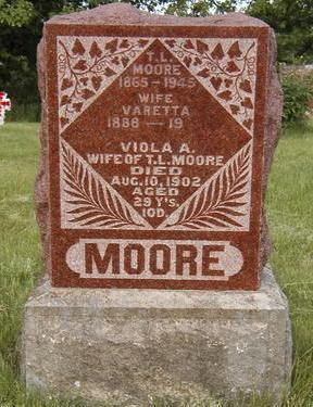 RUTH MOORE, VIOLA VARETTA - Madison County, Iowa | VIOLA VARETTA RUTH MOORE