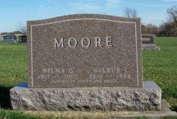 MOORE, WILMA GRACE - Madison County, Iowa | WILMA GRACE MOORE