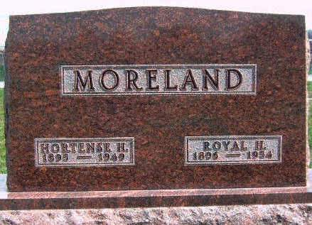 MORELAND, ROYAL HENRY - Madison County, Iowa | ROYAL HENRY MORELAND
