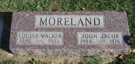 WALKER MORELAND, H. LOUISE - Madison County, Iowa | H. LOUISE WALKER MORELAND