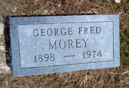 MOREY, GEORGE FRED - Madison County, Iowa | GEORGE FRED MOREY