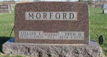 MORFORD, LILLIAN ESTHER - Madison County, Iowa | LILLIAN ESTHER MORFORD