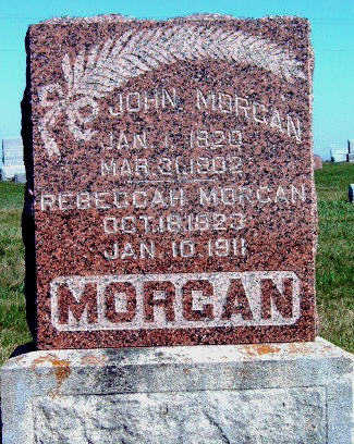 MORGAN, JOHN - Madison County, Iowa | JOHN MORGAN