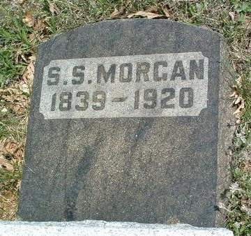 MORGAN, SYLVESTER S. - Madison County, Iowa | SYLVESTER S. MORGAN