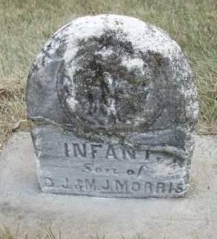 MORRIS, INFANT - Madison County, Iowa   INFANT MORRIS