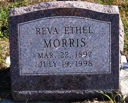 MILLER MORRIS, REVA ETHEL - Madison County, Iowa | REVA ETHEL MILLER MORRIS