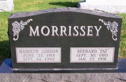 MORRISSEY, MADOLYN ALICE - Madison County, Iowa | MADOLYN ALICE MORRISSEY