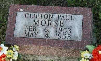 MORSE, CLIFTON PAUL - Madison County, Iowa | CLIFTON PAUL MORSE