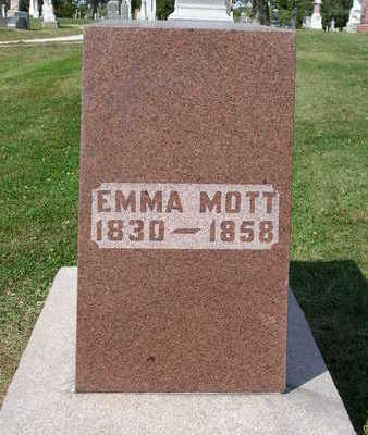 MOTT, EMMA E. - Madison County, Iowa | EMMA E. MOTT