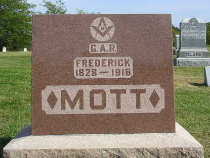 MOTT, FREDRICK - Madison County, Iowa | FREDRICK MOTT
