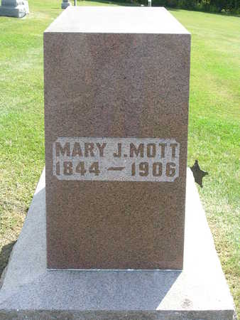 MOTT, MARY J. - Madison County, Iowa | MARY J. MOTT