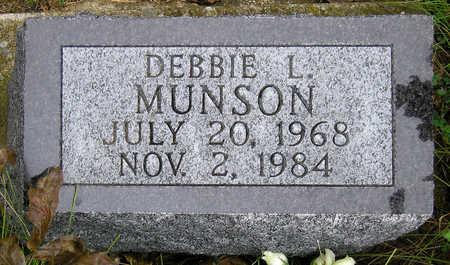 MUNSON, DEBORAH 'DEBBIE' LYNNE - Madison County, Iowa | DEBORAH 'DEBBIE' LYNNE MUNSON