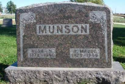 MUNSON, HUGH H. - Madison County, Iowa | HUGH H. MUNSON