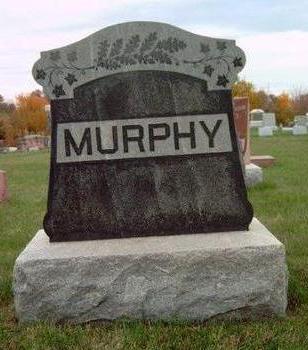 MURPHY, FAMILY STONE - Madison County, Iowa   FAMILY STONE MURPHY