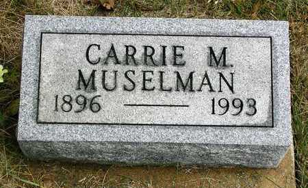 MUSELMAN, CARRIE M. - Madison County, Iowa | CARRIE M. MUSELMAN