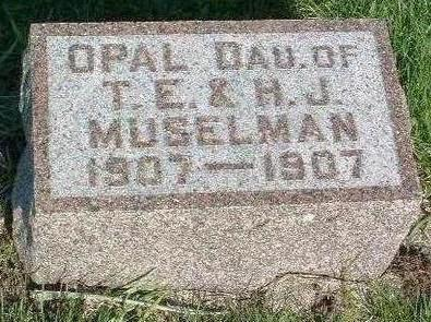 MUSELMAN, OPAL - Madison County, Iowa | OPAL MUSELMAN