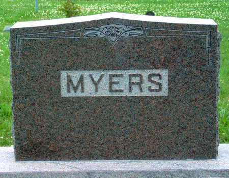 MYERS, FAMILY STONE - Madison County, Iowa | FAMILY STONE MYERS