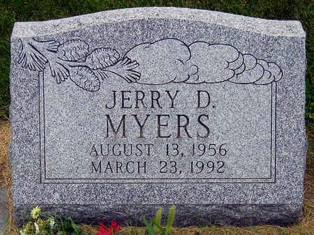 MYERS, JERRY D. - Madison County, Iowa | JERRY D. MYERS