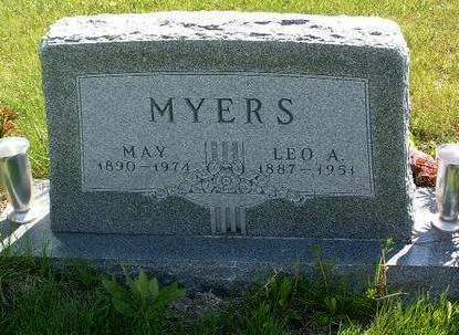 SHUTT MYERS, MAY - Madison County, Iowa | MAY SHUTT MYERS