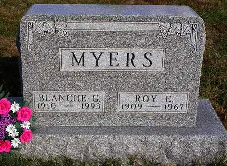 MYERS, BLANCHE GERTRUDE - Madison County, Iowa | BLANCHE GERTRUDE MYERS