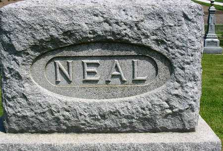 NEAL, FAMILY HEADSTONE - Madison County, Iowa | FAMILY HEADSTONE NEAL