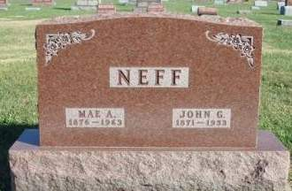 NEFF, MARY ALICE (MAE) - Madison County, Iowa | MARY ALICE (MAE) NEFF