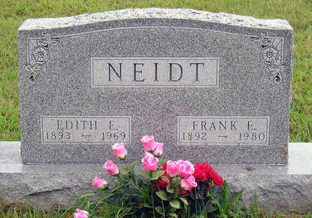 NEIDT, EDITH ESTHER - Madison County, Iowa | EDITH ESTHER NEIDT