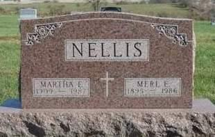 NELLIS, MARTHA E. - Madison County, Iowa | MARTHA E. NELLIS