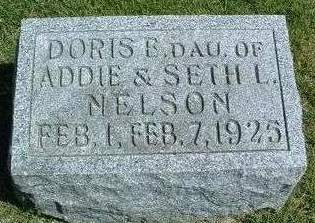 NELSON, DORIS E. - Madison County, Iowa | DORIS E. NELSON