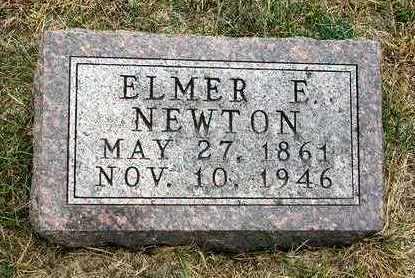 NEWTON, ELMER ELLSWORTH - Madison County, Iowa | ELMER ELLSWORTH NEWTON