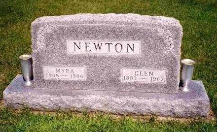 NEWTON, GLEN EARL - Madison County, Iowa | GLEN EARL NEWTON