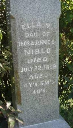 NIBLO, ELLA M. - Madison County, Iowa | ELLA M. NIBLO