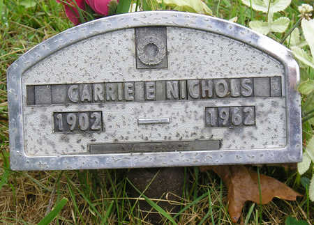 NICHOLS, CARRIE ELIZABETH - Madison County, Iowa | CARRIE ELIZABETH NICHOLS