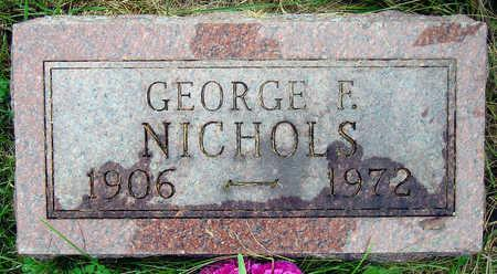 NICHOLS, GEORGE FRANKLIN - Madison County, Iowa | GEORGE FRANKLIN NICHOLS