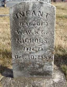 NICHOLS, INFANT - Madison County, Iowa | INFANT NICHOLS